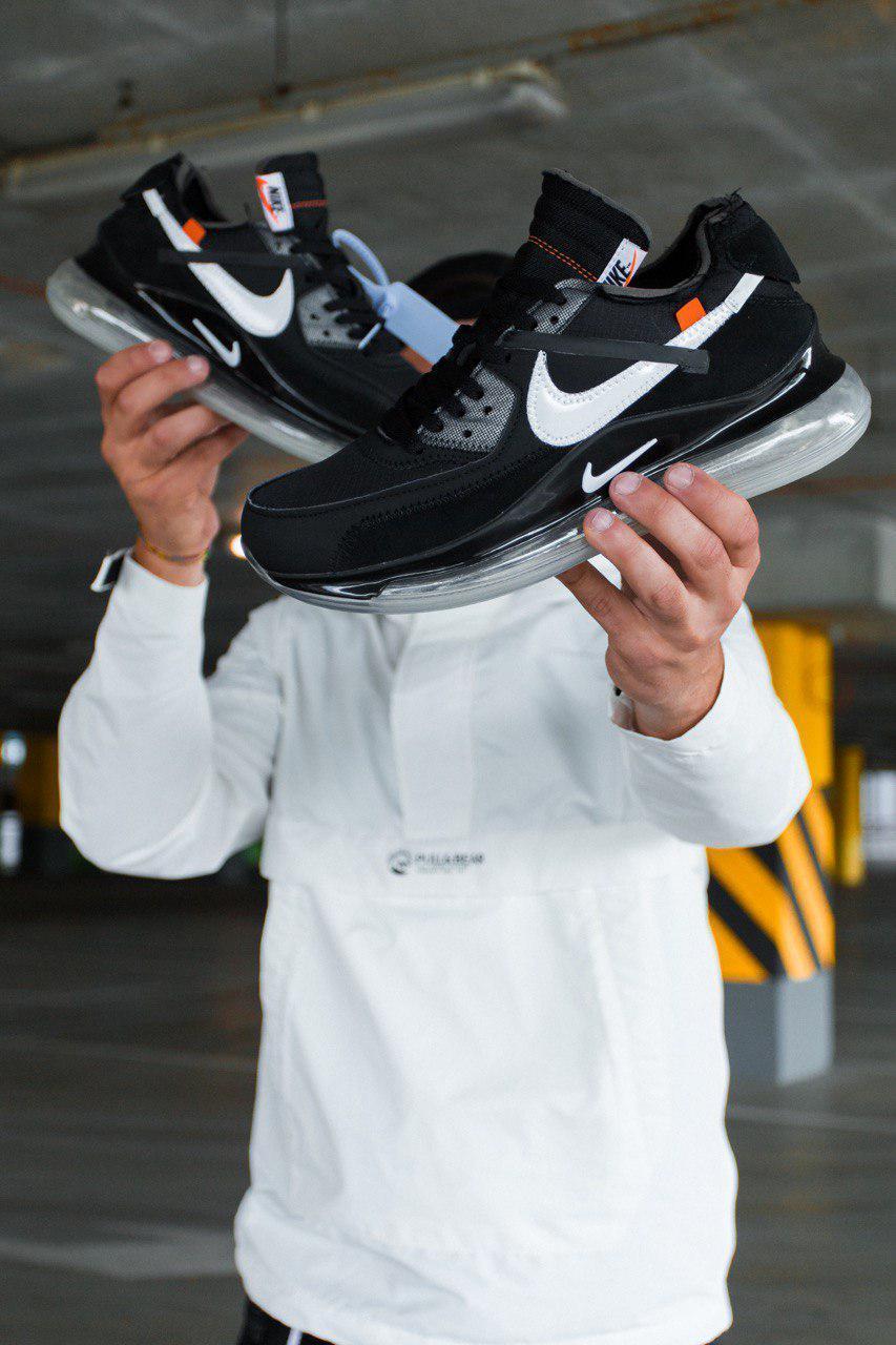 Мужские кроссовки Nike Air Max 90/720 Off White , Реплика