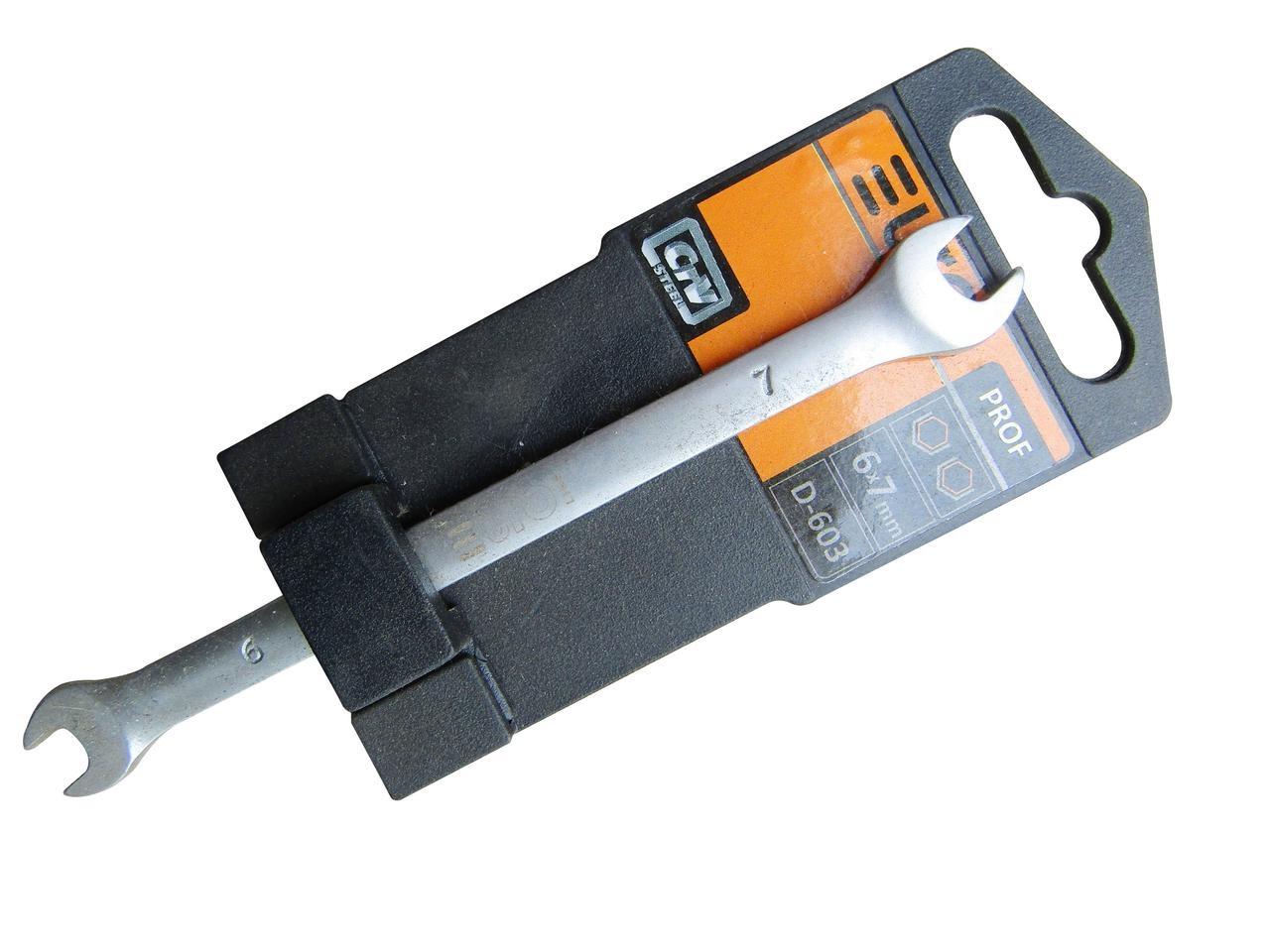 Ключ рожковый 20х22мм (EURO LINE) D612