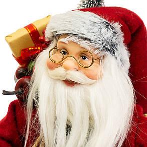 Фигурка Дедушка Мороз с подарками h=30см (025NC), фото 2