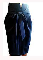 Эффектная женская юбка с поясом