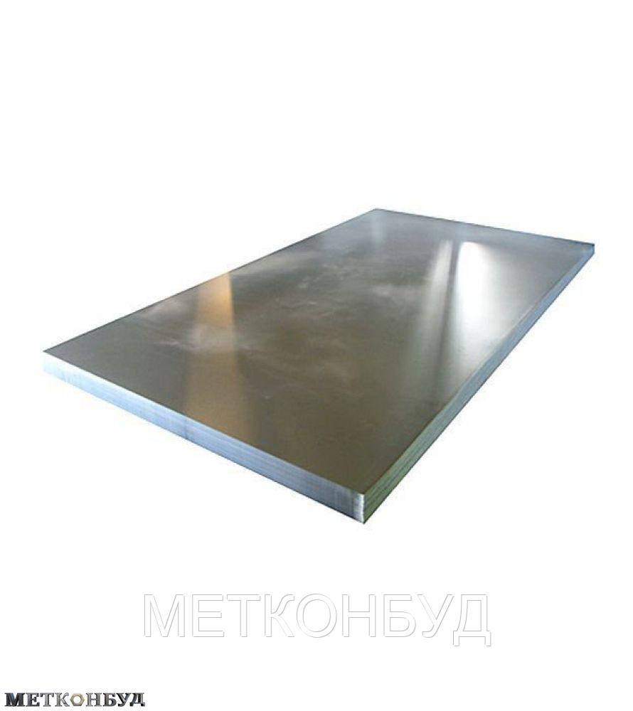 Лист нержавеющий кислотостойкий AISI 316 25х1000х2000 мм