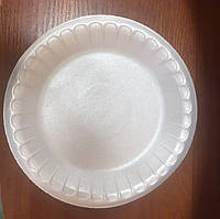 Тарелка 225 банкетная из вспененного полистирола