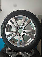 205/55/R16 Real Mercedes Комплект литые диски + шины 4шт. Зима