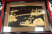 Картина из пробкового дерева (43х33 см)