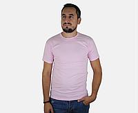 Мужская Футболка Классическая Fruit of the loom Светло-Розовый 61-036-52 L, фото 1