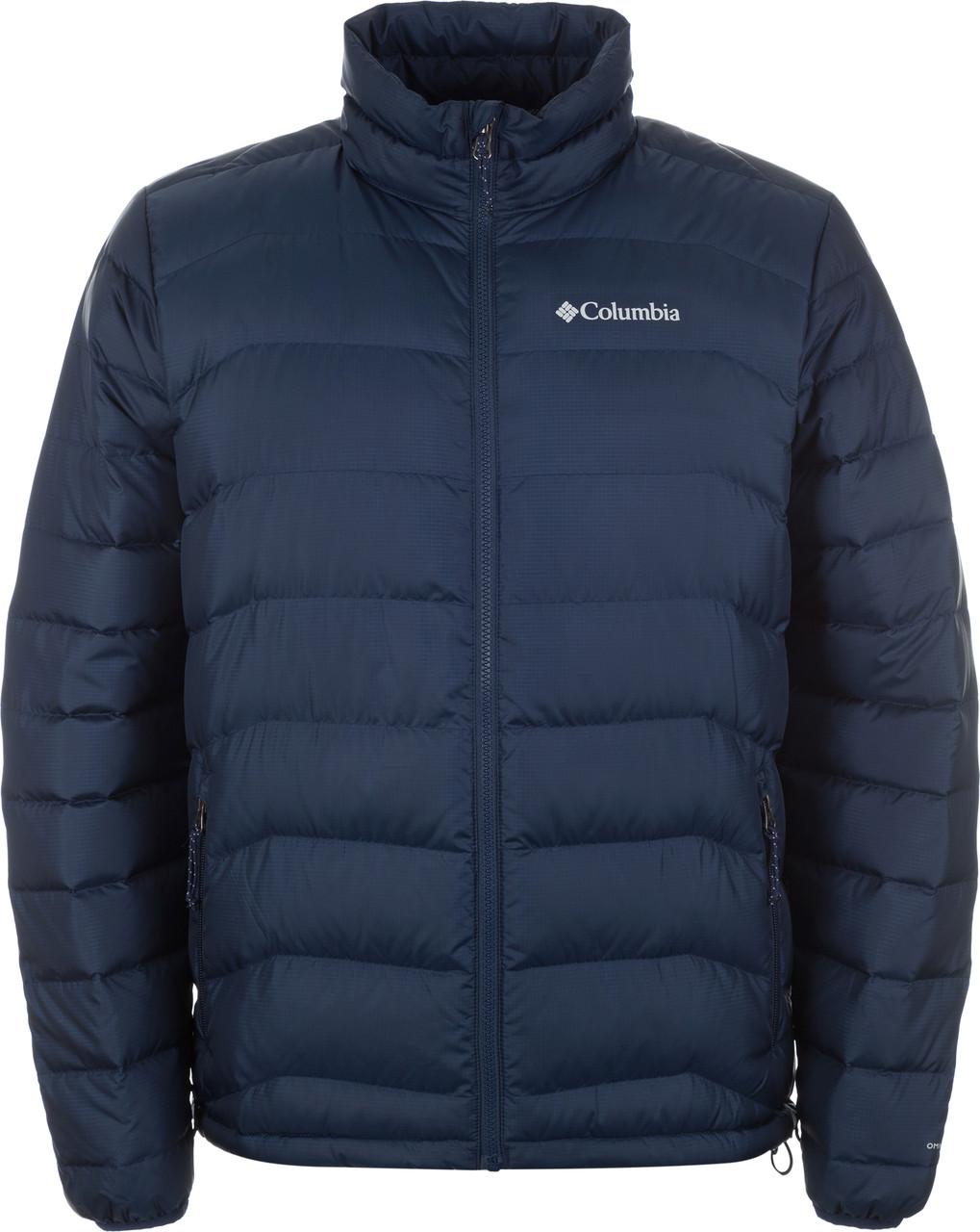 Мужская зимняя синяя куртка Columbia Cascade Peak II Jacket