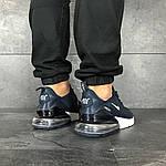 Мужские кроссовки Nike Air Max 270 (сине-белые), фото 4