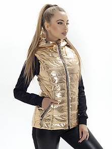Жилет с капюшоном Irvik КА813 золото