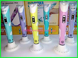 3Д ручка для рисования 3D pen-2