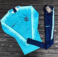 Спортивный (тренировочный ) костюм Барселона (Barcelona) 2019 сезон