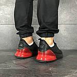 Мужские кроссовки Nike Air Max 270 (черно-красные), фото 4