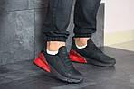 Мужские кроссовки Nike Air Max 270 (черно-красные), фото 3