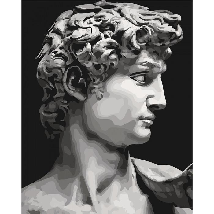 Картина по номерам на холсте Давид. Микеланджело, KHO4617