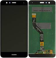 Дисплей (модуль) Huawei P10 Lite, WAS-LX2J, LX2, LX1A, WAS-L21, WAS-LX1 черный