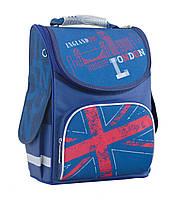 Рюкзак школьный каркасный 1 Вересня PG-11 London 34x26x14 см 12 л   553420/1