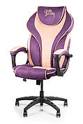Стулья для врачей кресло для врача Barsky Sportdrive Blackberry/Peach Fibre Arm_1D Synchro PA_designe BSDsyn-08