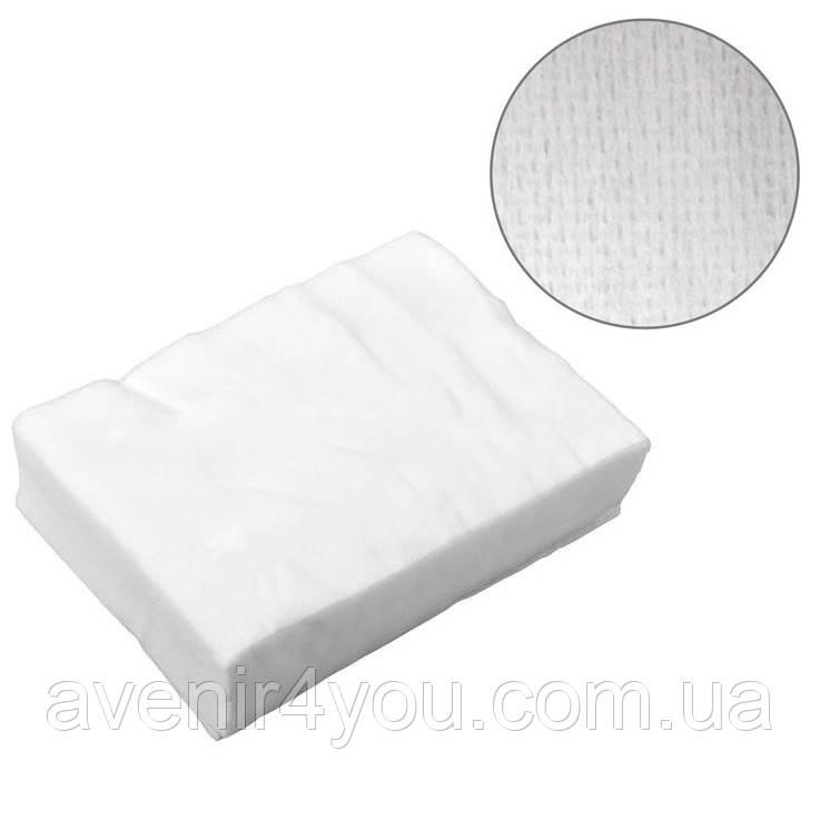 Салфетки одноразовые 35х70см (100 шт) Сетка Нарезные Белые