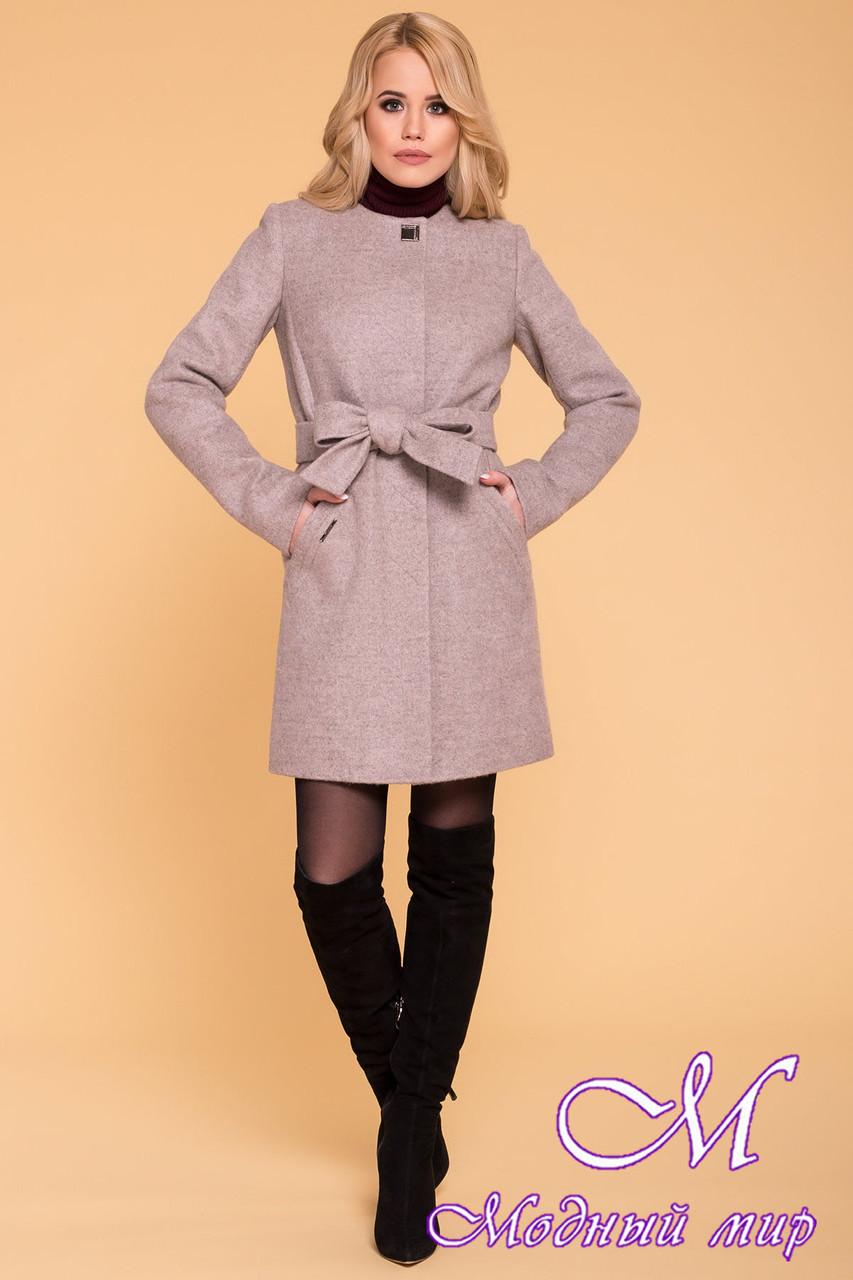 Женское кашемировое пальто демисезонное (р. S, M, L) арт. Люцея 6180 - 40894
