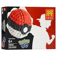 """Конструктор Lele """"Pokemon GO"""" 39002 Красный"""