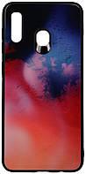 Чехол-накладка TOTO Print Glass Space Case Samsung Galaxy A20/A30 Candy #I/S