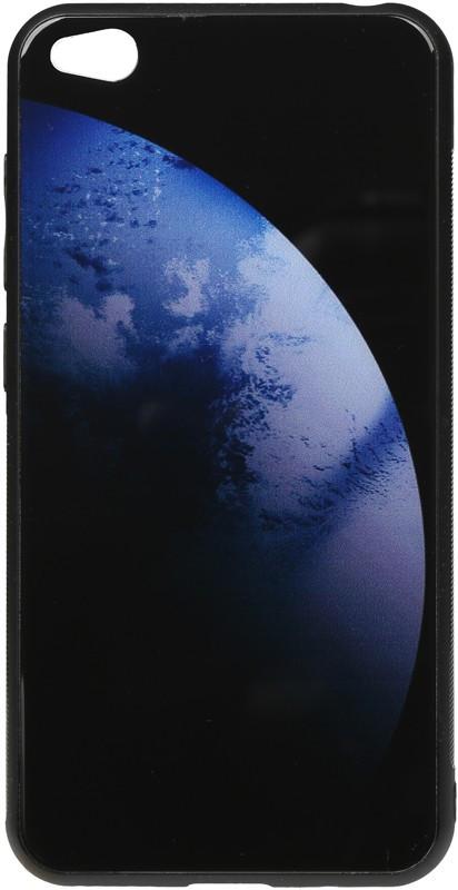 Чехол-накладка TOTO Print Glass Space Case Xiaomi Redmi Go Dark Blue #I/S