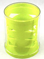 Стакан для ручек пластик круглый микс 9003