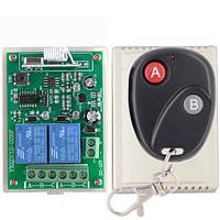 Двухканальный универсальный дистанционный выключатель на 12 Вольт Тип 2