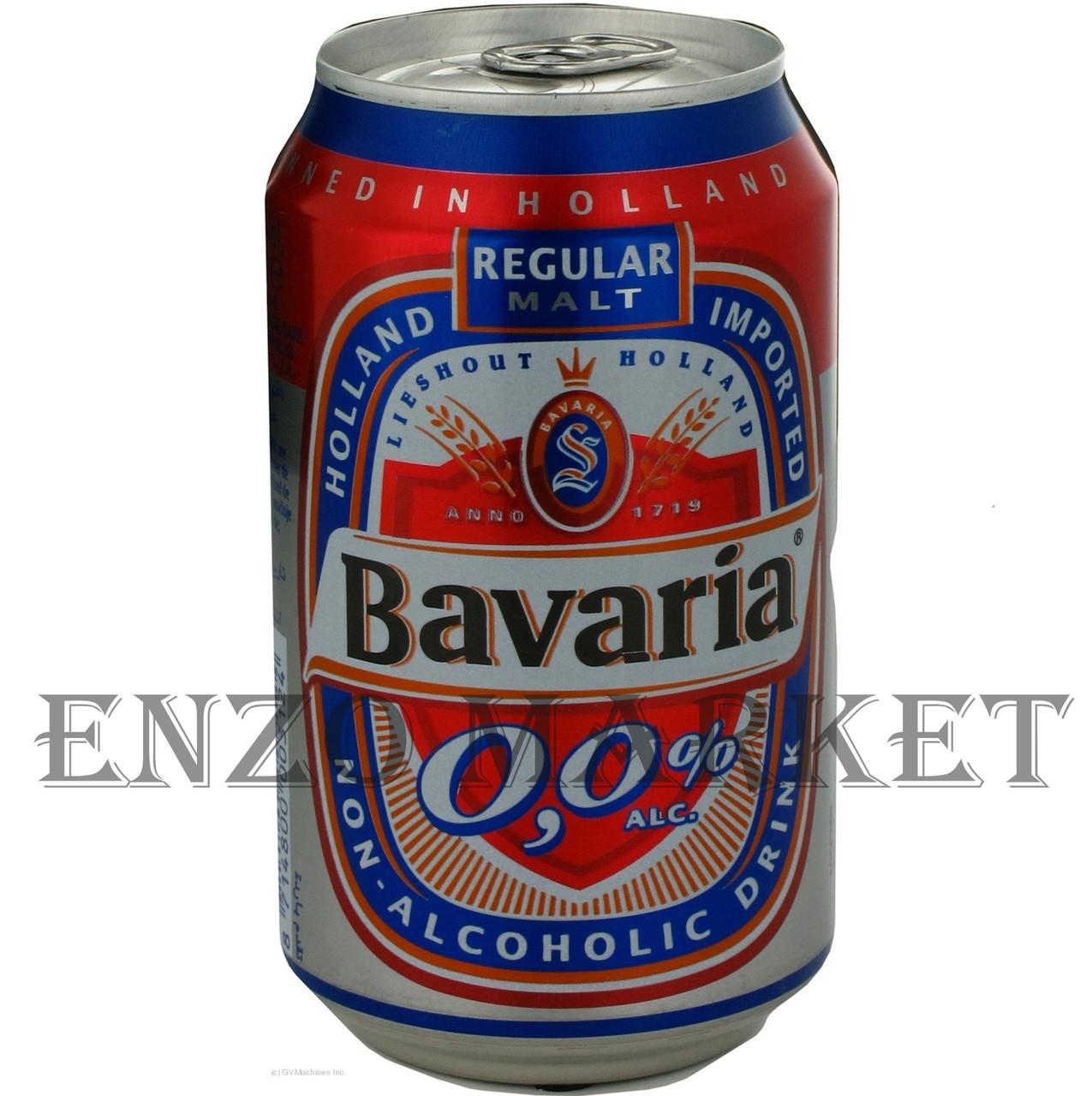Пиво Bavaria безалкогольное, 0,33 литра