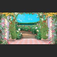 Фотообои, В царстве роз 20 листов, 196х350 см