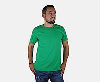 Мужская Футболка Классическая Fruit of the loom Ярко-Зелёный 61-036-47 M