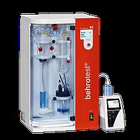 Автоматична установка парової дистиляції Behr S5, автоматична подача NaOH, H2O і H3BO4