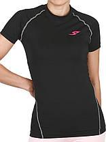 Женская компрессионная футболка Take Five для зала, фото 3