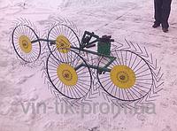 Грабли ворошилки на 4 колеса ТМ ШИП