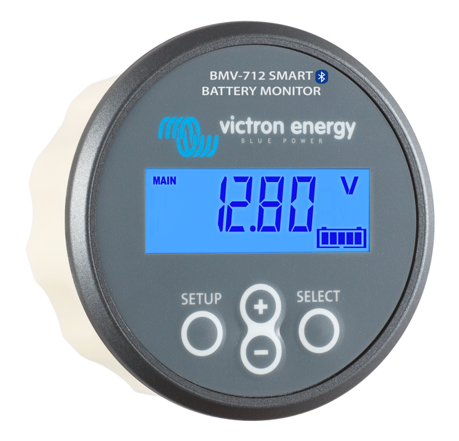 Батарейный монитор Battery Monitor BMV-712 Smart 9 - 90 VDC