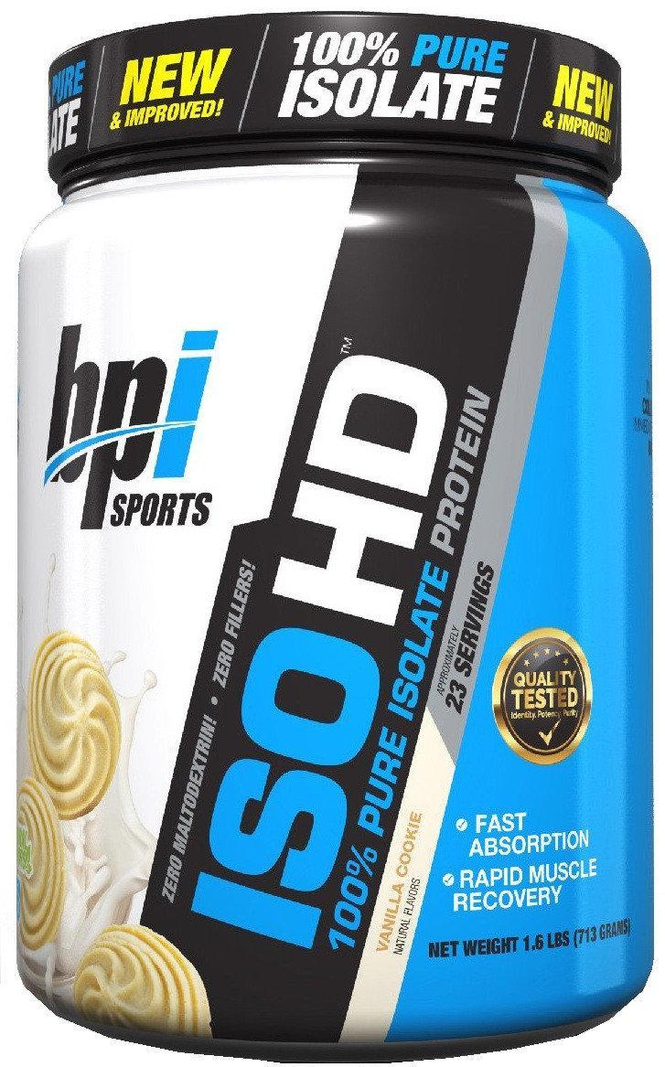 Протеин Изолят ISO HD (713 g, natural) BPI sports