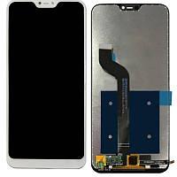 Дисплей (модуль) Xiaomi Redmi 6 Pro, Mi A2 Lite белый