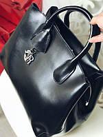 Большая женская Кожаная сумка реплика диор ТОП , кожаные женские сумки, фото 1