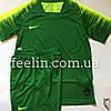 Футбольная форма игровая Nike (Найк темно зеленая)