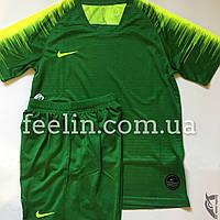 Футбольная форма игровая Nike (Найк темно зеленая), фото 1