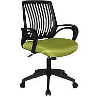 Кресло Barsky Office plus Black/Green OFB-02, фото 1