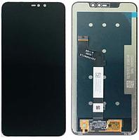 Дисплей (модуль) Xiaomi Redmi Note 6 Pro черный
