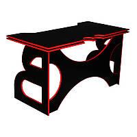 Компьютерный стол с полкой Barsky Homework Game Red HG-05, фото 1