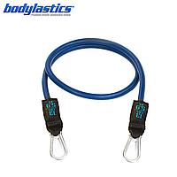 Синий трубчатый эспандер Bodylastics (сопротивление 5.9 кг)