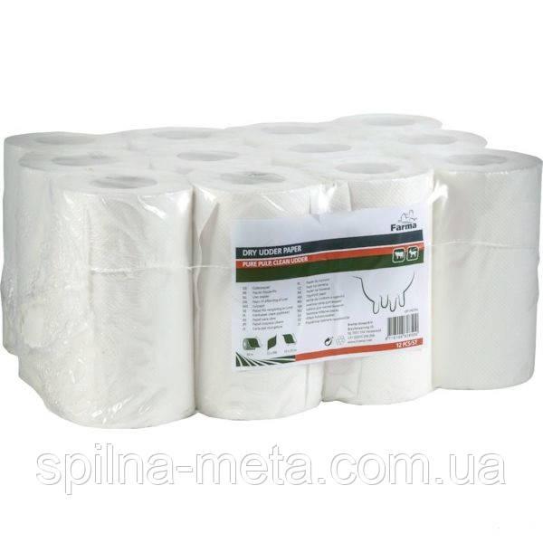 Салфетки для вымени одноразовые 230х250 мм, 200 шт Farma