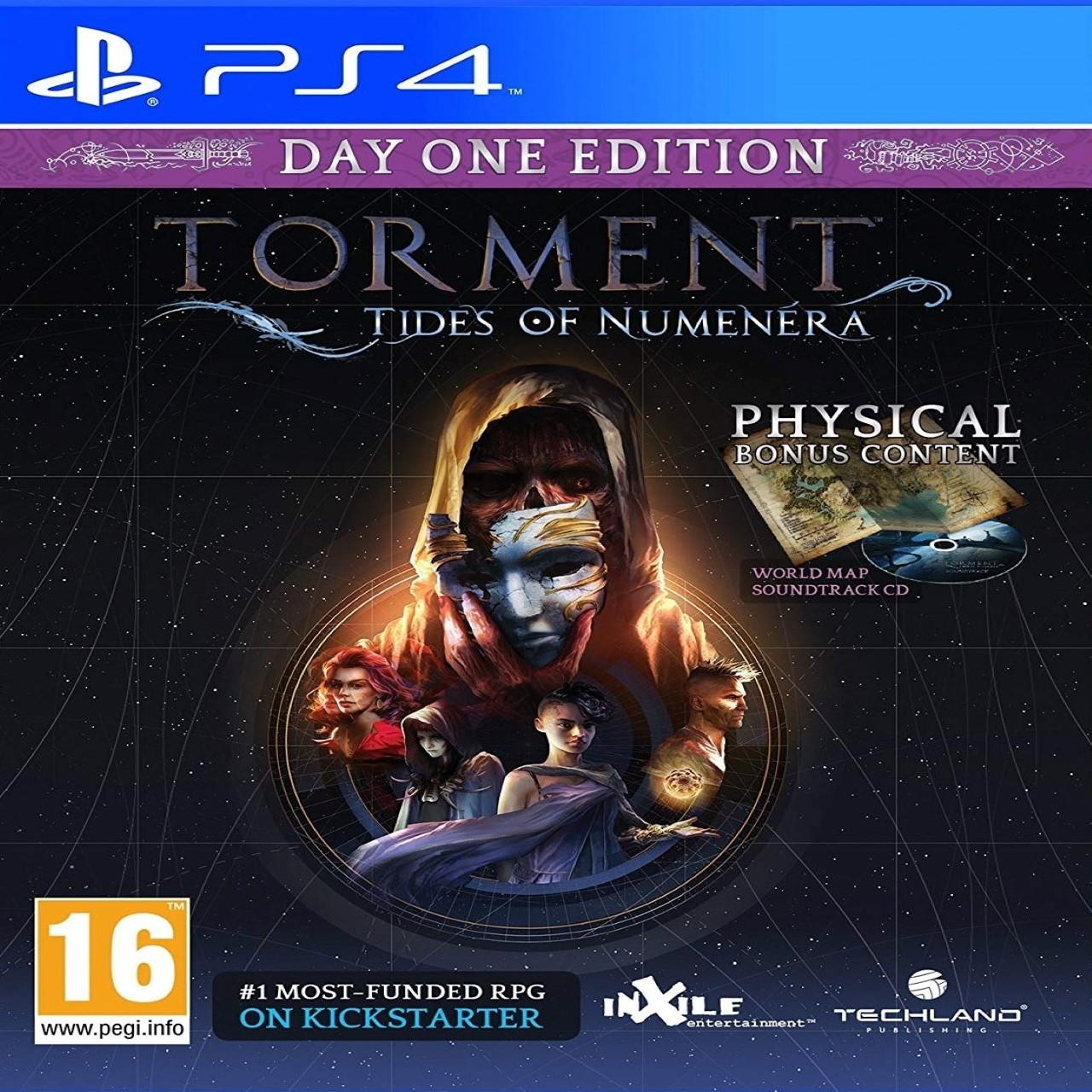 Torment: Tides of Numenera (російські субтитри) PS4