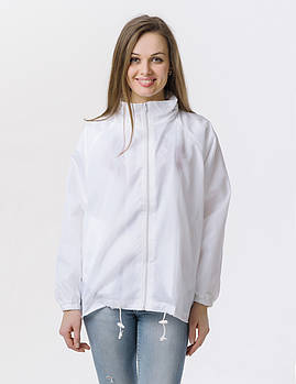 Промо куртка ветровка  M  под сублимацию женская цвет белый
