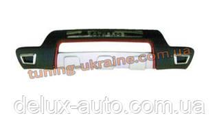 Накладки на бампер передняя и задняя на KIA Sorento 2012-2015