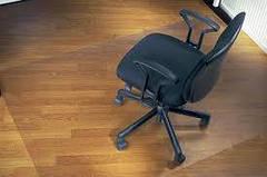 Ковер под кресло для защиты пола прозрачный 100х120см Чехия. Толщина 2,0мм