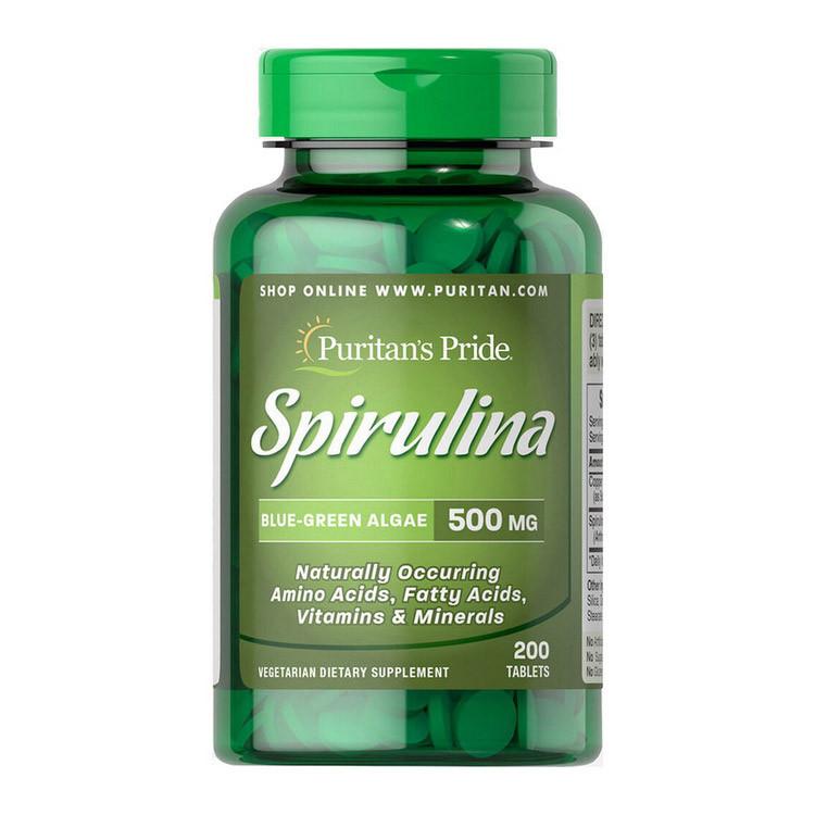 Spirulina 500 mg (200 tablets) Puritan's Pride