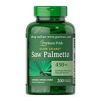 Saw Palmetto 450 mg (200 caps) Puritan's Pride
